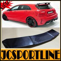 W176 A-CLASS Carbon Fiber Rear Wing Spoiler, Car Trunk Lip Spoiler For benz(fit w176  a250 a260 a45 2013-2015)