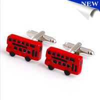 New Design Bus Style Car Cufflinks Men's Cufflink