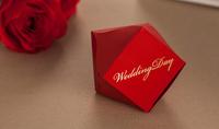 free shpping 100pcs sweet love candy box wedding favor box gift box sugar bowl