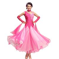 ballroom dance competition dresses 3colors S M L XL XXL3xl ballroom yundance flamenco dresses  beyonce costume waltz