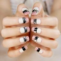 Elegant crystal false nails art decoration,woman false nails manicure art ornament display,4.20808.Free shipping