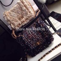 2015 New spring design duffel bag classic female gold chain bag crossbody bags for women lady designer handbag tote bag 0545A