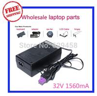 32V 1560mA 1.56A 0957-2230 Original AC Adapter Charger For HP DeskJet D1668 D2660 D2663 F4200 6520 6540Xi