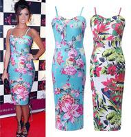 New Fashion Ladies sexy Elegance strap Dress floral print dress harness  Tee Dress A0013