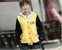 exo kpop hoodie kpop coat kpop clothes exo hoodie wolf kpop sweatshirt LUHAN BAEKHYUN SEHUN KRIS