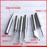 5PCS 4mm Tips for Soldering Irons Soldering Station 900M-T-K T-2.4D T-1C T-I T-B