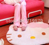 60x50CM Freeshipping hello kitty carpet plush warmer mats HELLO KITTY bedroom carpets KT153.1