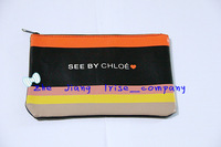 Free shipping women fashion beauty cosmetic case brand makeup organizer bag toiletry designer clutch bag tote travel wash purse