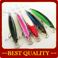 wholesale 12cm 18g Fishing Hook / fake fish bait 4 styles