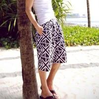 Men Boardshorts 2015 Summer Couples Swimwear Fashion Geometric Shorts Holiday Beach Pants Bermudas Masulinas Swim Sports Surf