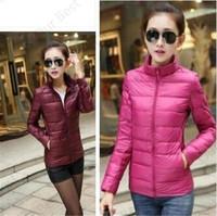 Cheapest Women Winter Parka Casual Warm Comfortable Jacket Down Slim Solid Pattern Windproof Ouertwear Female Coat Korean Style