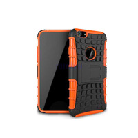 Heavy Duty 2 in 1 Hybrid Impact Rugged Armor Phone Bag Case Soft TPU & PC Back Cover Stand Skin for iPhone 6 plus 5.5