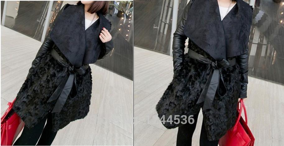 Sleeve pu Leather Jackets