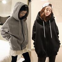 Casual XXXL Plus Size Women Velvet Hoodies Sweatshirts Large Big Size Warm Lady Clothing Tops 2XL Full Figure Female Pullover