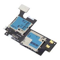 1pcs Micro SIM SD Card Holder / Reader Flex Cable for Samsung Galaxy Note 2 II N7100