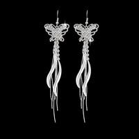 Austrian  Crystal Rhinestone Shining Drop Earrings For Women Jewelry 2015 new earring butterfly earring