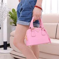 2015 cross-body handbag one shoulder small bag gentlewomen princess fashion shell bag child bags