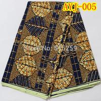 Veritable african real wax cotton fabric / Veritable real wax fabric AYJ-005