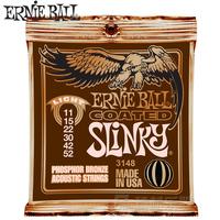 1Set High Quality Original  Ernie ball 3148 membrane ballads strings wood guitar strings 11 - 52