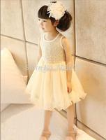 Brand New Girls Kids summer tutu dresses, older girls purple sequin tutu ballet dress, free shipping 3-8T, 5pcs/lot,melee