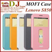 MOFI Flip Case Lenovo s850 case cover leather cover Ultra-Slim PU Leather case original lenovo s850 phone 5 colors in stock