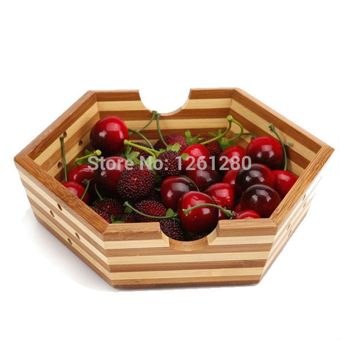Grátis frete estrela Fashion bandeja de armazenamento prato de frutas criativo de bambu carbonizado tigela lanche bandeja frutas secas ndy prato carft(China (Mainland))