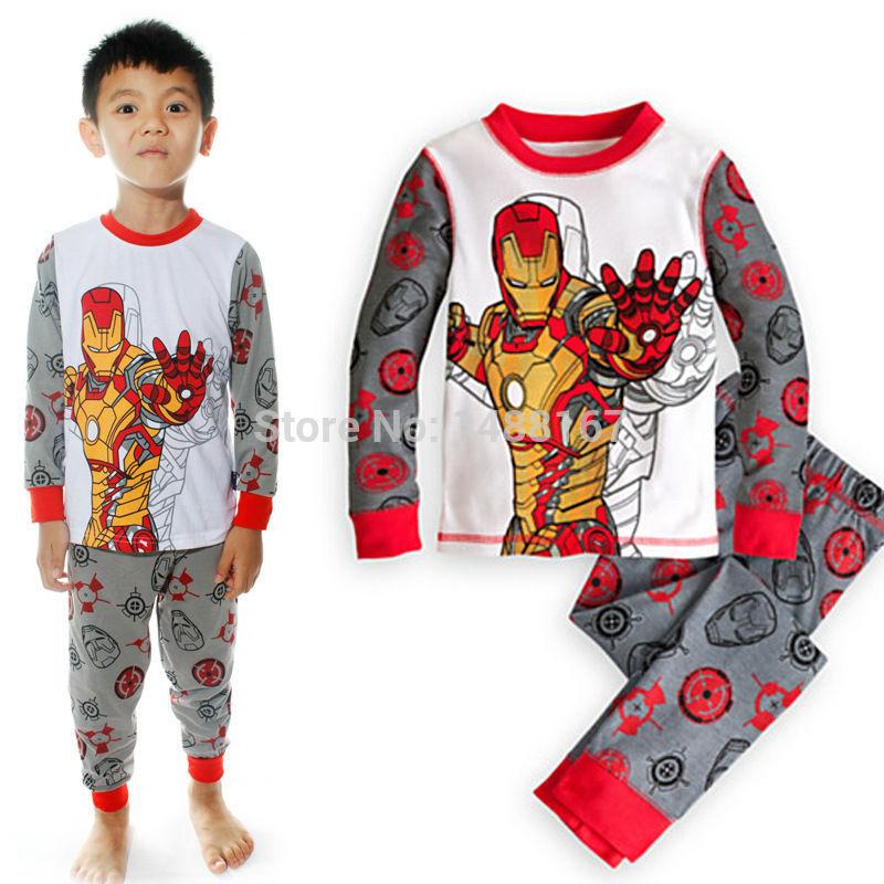 Cartoon Baby Iron Man Baby Cartoon Iron Man Pyjamas
