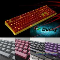 108 Keycaps Keypress Ducky DK 9008 s3 2108 for Mechanical Keyboard Translucent Backlight Backlit