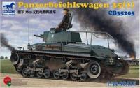Bronco model CB35205 1/35 Panzerbefehlswagen 35(t)
