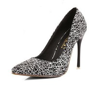 2015 Sexy Designer Women Pumps Pointed High Heels Ladies Wedding Party Dress Bride  Shoes Female sapatos femininos tacones