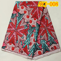 African Fabric Print Wholesale Cotton Wax Prints fabric Real Wax colorful stone ornament AYJ-008