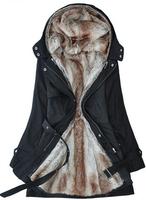 2013 Women Hot Sale Plus Size Winter Lady's Slim Warm Coat S/M/L/XL/XXL/XXXL/XXXXL Beige/Black/Army Green ZT-11091903