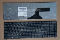 New Keyboard for ASUS P52 P52F P52JC P53 P53E P53SJ P53E Laptop Nordic Language Black