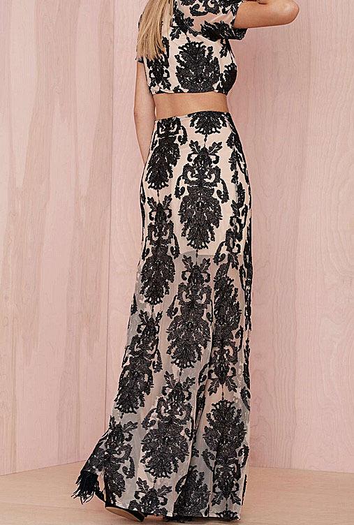 popular high waist maxi skirt pattern aliexpress