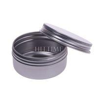 50ml 5pcs Aluminium Empty Nail Art Cream Lip Balm Cosmetic Lip Gloss Containers Bottles #52641