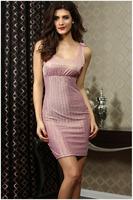 Summer New Fashion Silver Women Dresses Sexy Ladies Slim Dress for women  HM170