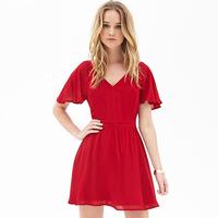 Women dress New 2015 Vestidos Femininos Summer Dresses Backless Ruffles chiffon dress Vestido De Festa Plus Size Party Dresses