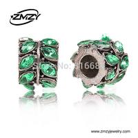 Free Shipping (10pcs/lot ) 2015 New Silver Zinc Alloy European beads Fits Alloy European Bracelets,Beads For Charms Bracelets