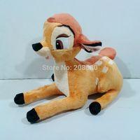 35CM=13.78Inch Cartoon Bambi Plush Toy Little Deer Stuffed Animal Doll Kids Gift