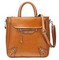 2015 new leather handbags, big fashion handbags, messenger bag factory outlets