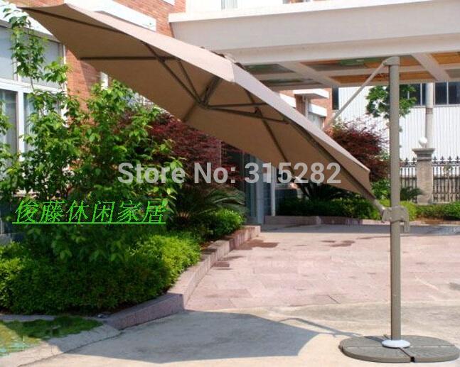 2015 Outdoor patio umbrellas 3 meters large skillet beach umbrella folding umbrella stall outdoor advertising sun umbrella(China (Mainland))