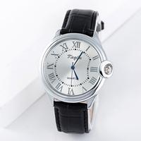 watch men brand 2015 quartz watch men's casual watch wristwatches leather strap watches HP037