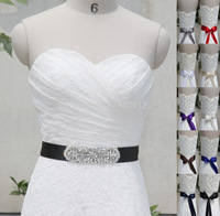 High Quality Handmade Belt Crystal Rhinestone Pearl Czech Stones Bridal Gown Sash Formal Wedding Evening Dresses Belt T202015
