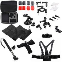HopCentury Go Pro Accessory  Kit Outdoor Sports Combo Kit Accessories for Gopro Hero 4 3+ 3 2 1 Cameras
