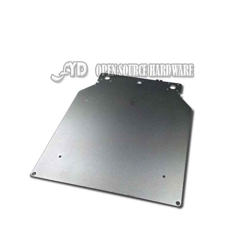 3d printer accessories original aluminum alloy heated bed aluminum plate sandblast alumina plate for diy ultimaker2(China (Mainland))