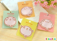 New cute lovly face baby style sticky Notepad /  sticky note Memo pad / message post / Wholesale