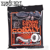1Set High Quality Original  Ernie ball 2730 membrane cobalt spirally-wound 7 string electric guitar strings 10 - 62