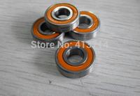 16 pcs/lot hybrid ceramic bearings fish reel bearings S696 2RS CB ABEC7 6x15x5mm  FREE SHIPPING