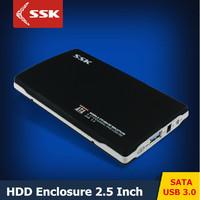 2015 NEW SSK SHE072 USB 3.0 HDD Enclosure 2.5 Inch SATA HDD CASE Serial port hard disk box  External Hard disk HDD Enclosure