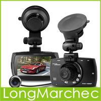 2PCS H.264 1.3M CMOS FHD1080P Car DVR Dual Camera Car DVR with Automatically Turn On / Off & Delay Power Off Function